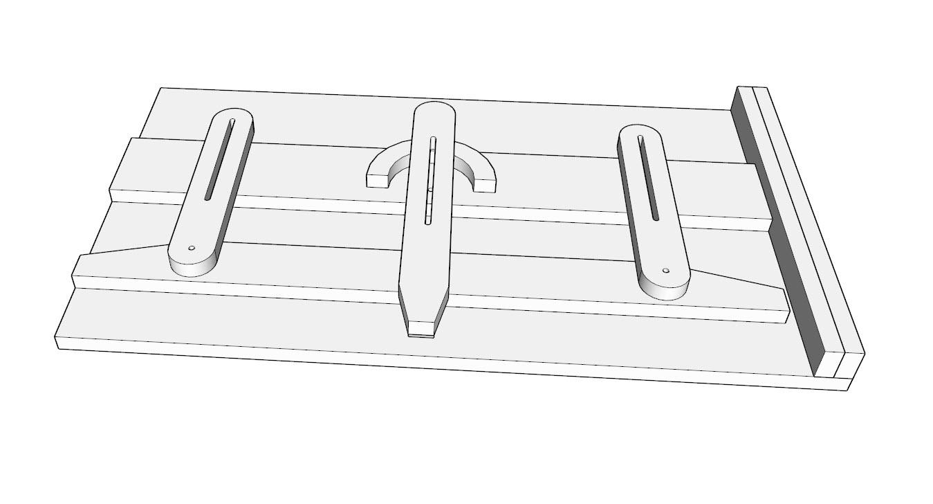 Table Saw Taper Jig   Stumpy Nubs Woodworking Journal